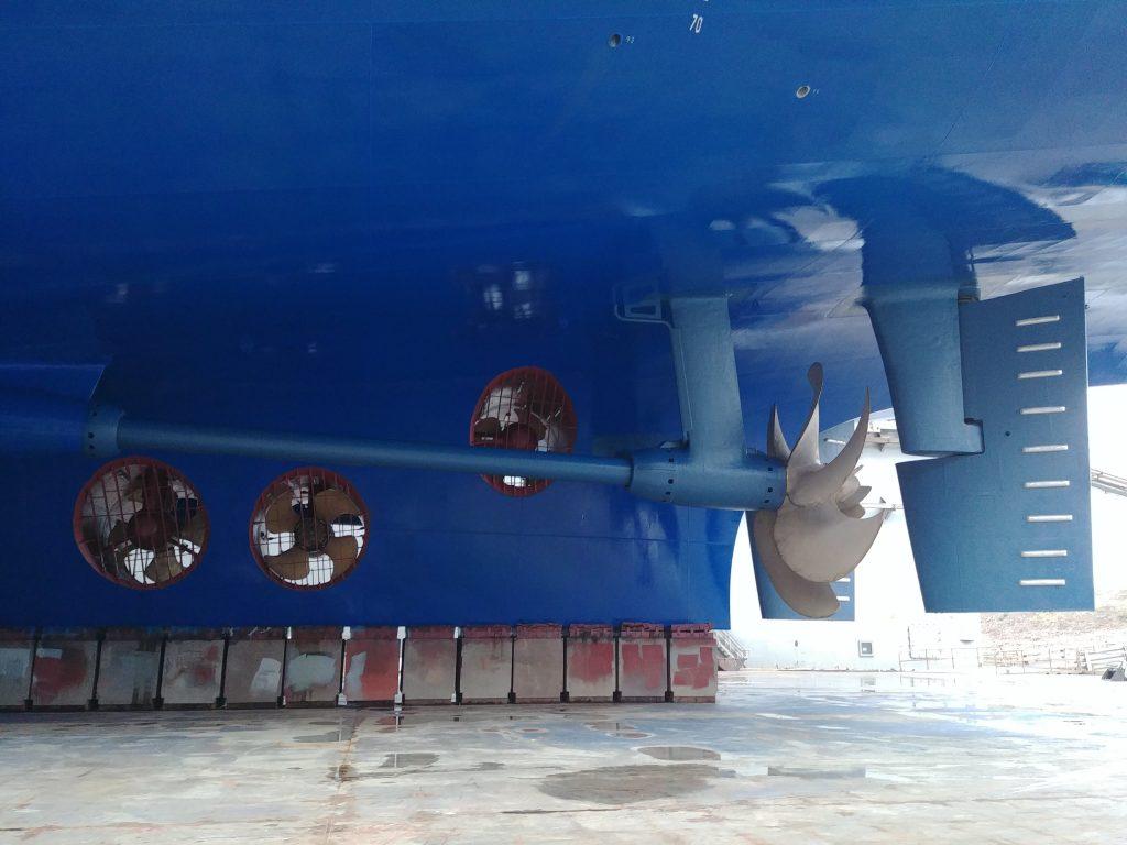 propulsors cruise ship