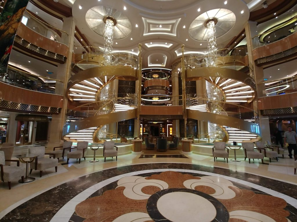 atrium cruise ship princess