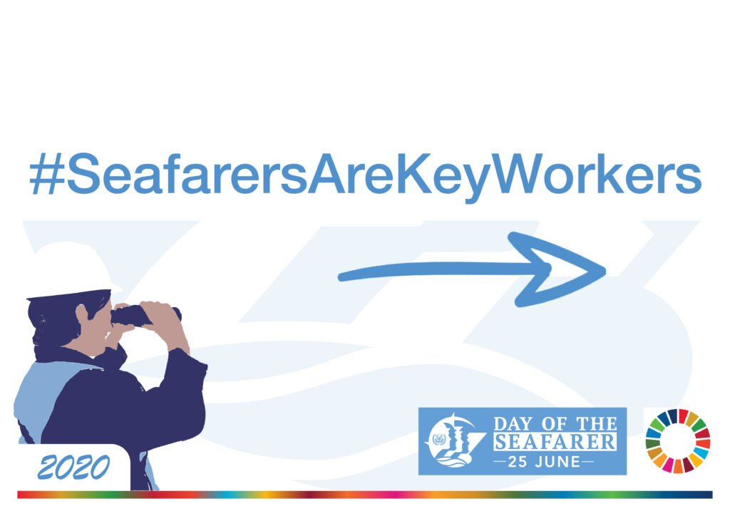 logo seafarers are key workers
